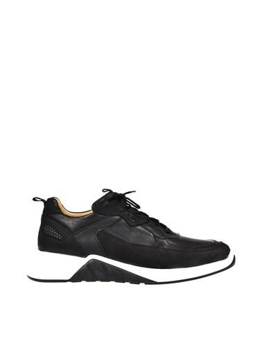 Dr.Flexer 120002 HakıkıDerıErkek Comfort Ayakkabı Sıyah Siyah
